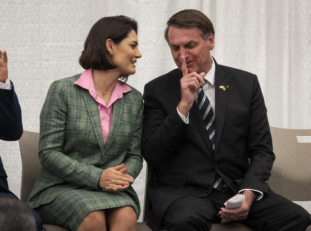 Brezilya Devlet Başkanı Bolsonaro'nun eşi koronaya yakalandı