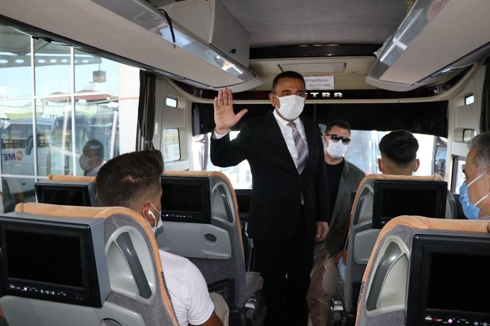 Siirt Valisi Hacıbektaşoğlu'ndan pandemi denetimi