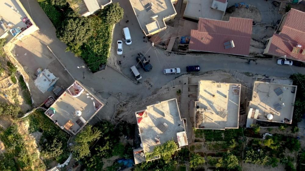 Siirt'te drone destekli narkotik uygulaması