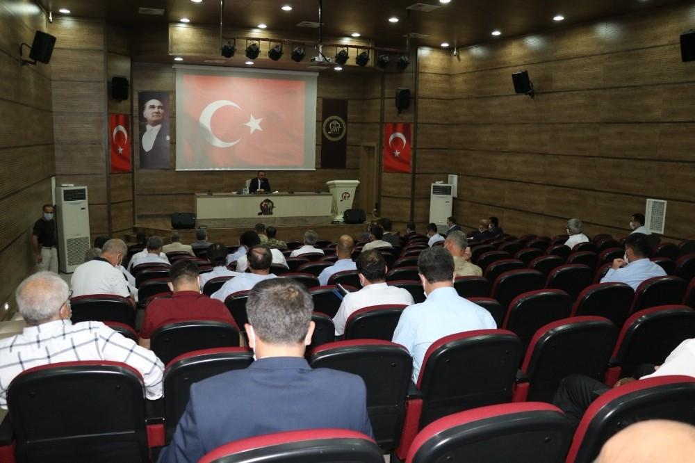Siirt'te pandemi toplantısı yapıldı