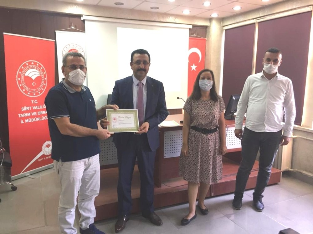 Siirt'te gıda kontrol görevlisi eğitim kursu düzenlendi