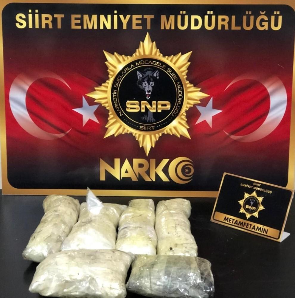 Siirt'te uyuşturucu operasyonu: 1 tutuklama