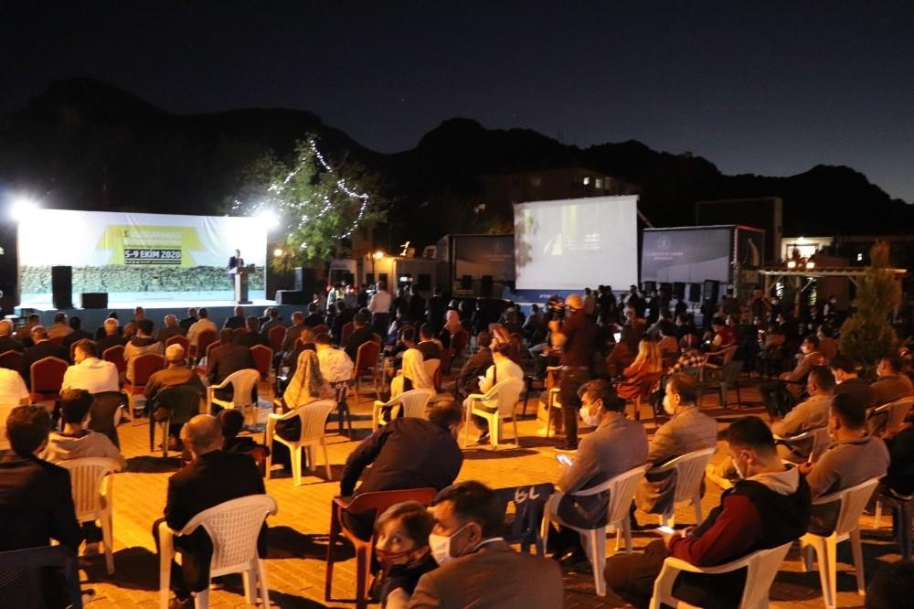 Terörün temizlendiği bölgede Uluslararası Siirt Kısa Film Festivali'nin finali yapıldı