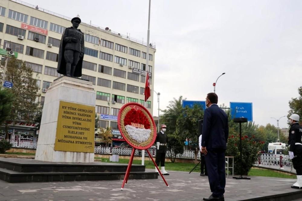 Siirt'te Atatürk'ü anma programı