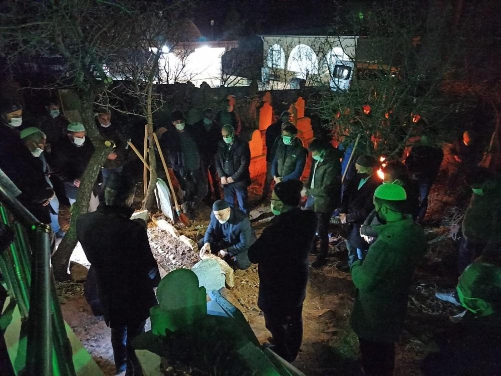 Gaziantep'teki yangında hayatını kaybeden Siirtli Hamzaoğlu defnedildi