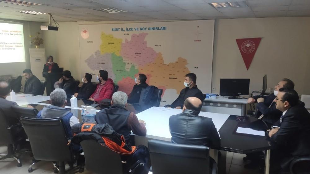 Siirt'te tarımda bitki koruma ürünleri bayi toplantısı yapıldı