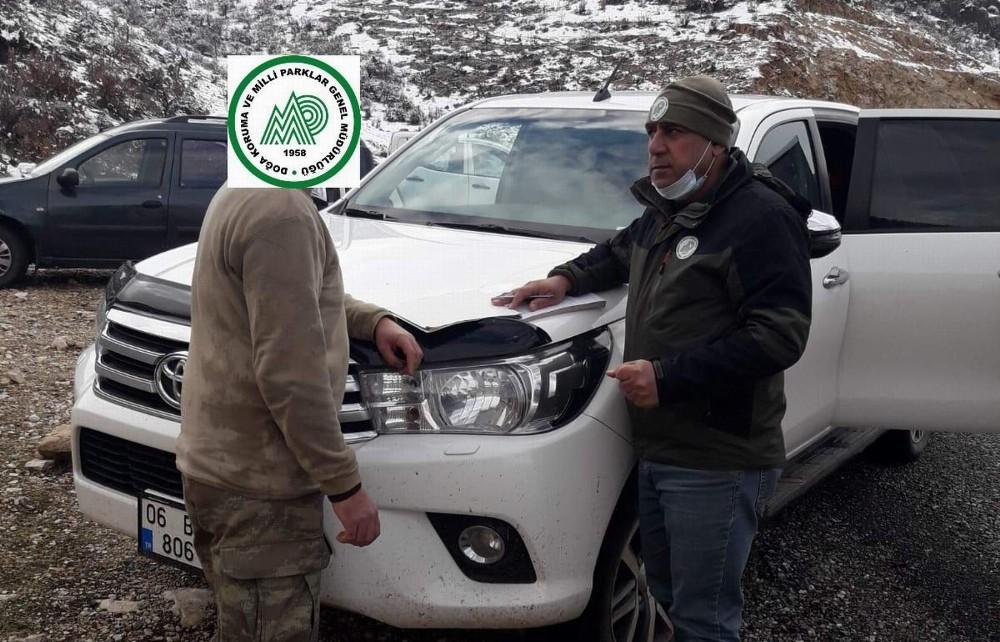 Siirt'te kaçak avcılık yaptığı tespit edilen bir kişi yakalandı