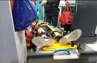 Siirt'te eşeğe bağlı iple sürüklenen çocuk yaralandı