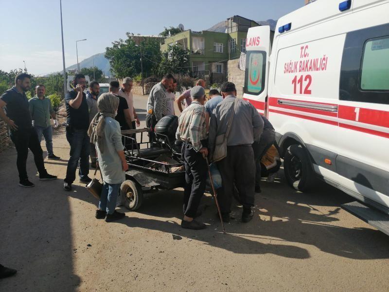 Siirt'te kamyonet ile motosiklet çarpıştı: 1 yaralı