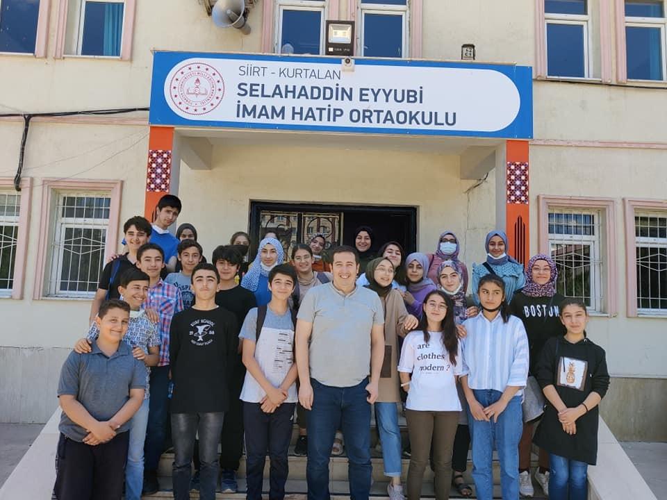 Türkiye birincisi oldu, Kurtalan'a gurur yaşattı