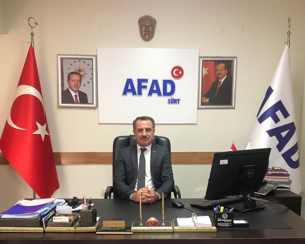 Afet bilincini geliştirmek üzere AFAD deprem simülasyon tırı Siirt'te vatandaşlara eğitim vermeye geliyor