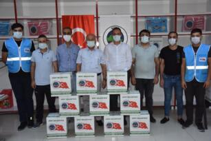 Siirt Belediyesi PKU hastaları için gıda kolisi dağıttı
