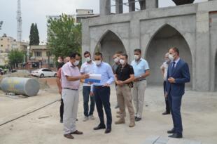 Vali Hacıbektaşoğlu Tarım ve Ağaç Müzesi alanında incelemelerde bulundu
