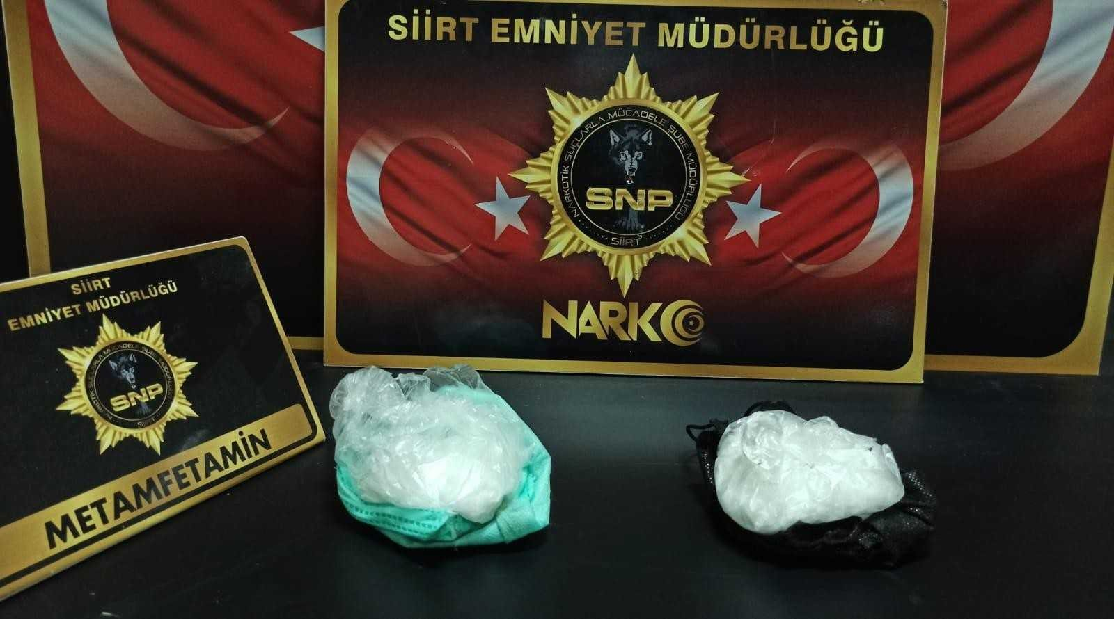 Siirt'te 500 kişiyi zehirleyecek uyuşturucu madde ele geçirildi