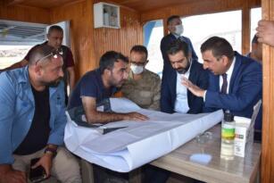 Siirt Valisi Hacıbektaşoğlu, sondaj çalışmalarını inceledi